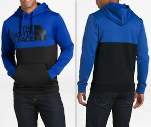 The North Face Men#x27;s Surgent Bloc Pullover Hoodie Long Sleeve TNF Blue TNF Black $49.39
