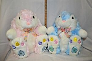 U CHOOSE Easter BUNNY Plush FLOPPY Ears EGGS on PAWS BLUE PICK 14quot; COLLECT $11.98