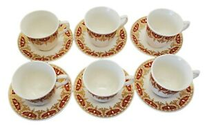 2.2 Oz Ceramic Espresso Turkish Coffee 12 Pc Set