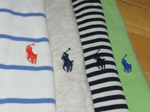 RALPH LAUREN shirt lot of {4} polo shirts mens large pony all excellent $49.99