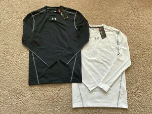 NEW Under Armour ColdGear Compression Crew Shirt 1265650 $26.49
