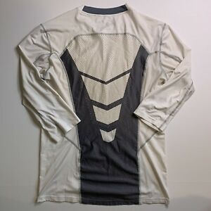 Nike Hypercool Dri Fit Max Pro Combat Fitted Baseball Shirt 3 4 Sleeve Mens Med $24.49