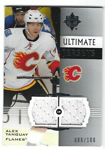 2007 08 Ultimate Collection Alex Tanguay Ultimate Jerseys #UH AT 088 100 $2.50