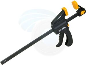 12inch Ratcheting Bar Locking Clamps Ratchet Spreader Squeeze Woodwork $17.39