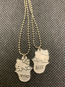 Sanrio Hello Kitty Best Friend Anime Necklace Girls 90's