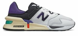 New Balance Mens 997 Sport Shoes White with Blue $61.37
