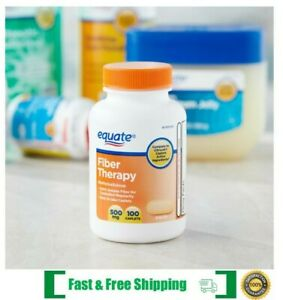 Equate Fiber Therapy Methylcellulose Caplets METHYLCELLULOSE Exp 2023 $12.50