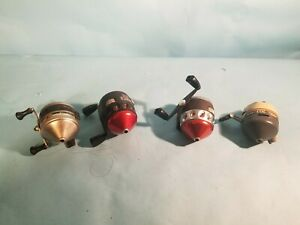 Fishing Reels Lot Of 4 Pre owned used