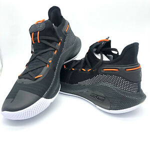 Under Armour UA Curry 6 Basketball Oakland Sideshow Black 3020612 003 Authentic $109.99