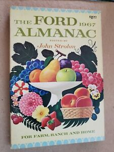 VINTAGE The Ford Almanac 1967 For Farm Ranch and Home **GREAT CONDITION**