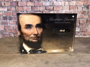 ABRAHAM LINCOLN quot;USAquot; SIGNED HANDWRITTEN AUTHENTIC HISTORIC DISPLAY JSA $265.00