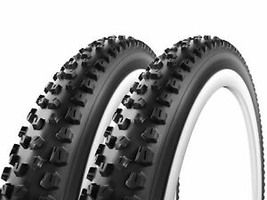 Pair of Vittoria Jafaki RTNT 26 x 2.35 MTB Bike Tire Tubeless Wire Bead $59.95