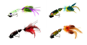 Arbogast Jointed Jitterbug 2.0 Wakebait 2 1 2 inch Topwater Bass Lure