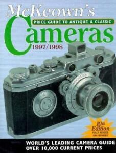 Price Guide to Antique and Classic Cameras 1997 1998 $5.39