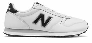 New Balance Mens 311 Shoes White with Black $30.23