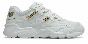 New Balance Womens 850 Shoes White with Gold $55.79
