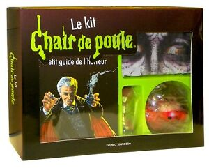 Extremely rare Goosebumps Vampire Kit French kit complete Never see in USA EUR 79.00
