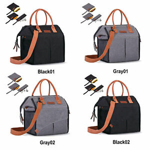 Insulated Lunch Tote Bags for Women Leakproof Thermal Cooler Bag for School Work