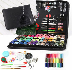 Travel Sewing Kits for Adults DIY Beginners Women Lovers L black $41.99