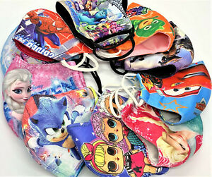 Kids 100% Cotton Face Mask Thick Reuseable Washable Breathable Cheap Low Price