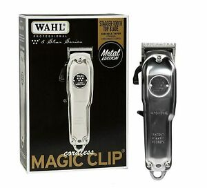 Wahl Cordless Magic Hairpin Metal Edition #08509 110 220 Volt 50 60 Hz $39.99