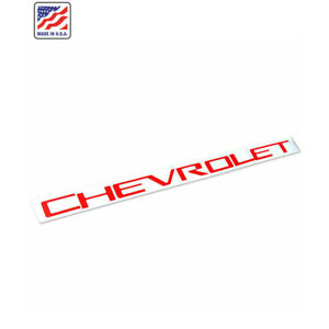 Red Tailgate CHEVROLET Emblems letters For 19 20 Chevrolet Silverado 1500 New