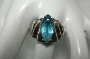 Carolyn Pollack CJC Sterling Topaz Ring Size 10