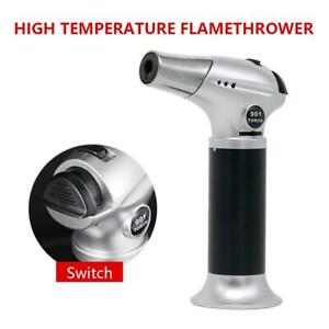 Butane Torch Adjustable Cooking Torch Kitchen Torch for BBQBakingCreme Brulee $18.94