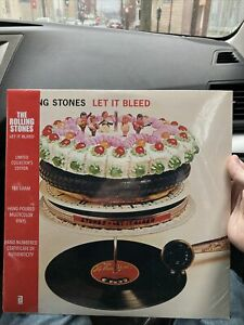 The Rolling Stones Let It Bleed Black Friday Record Store Day RSD Hand Poured LP $499.00
