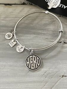 NWT ALEX AND ANI HERO BRACELET Silver Plated $9.23