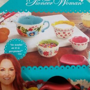 The Pioneer Woman Measuring Bowl Set Breezy Blossom 4 piece $16.25