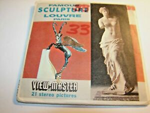 Famous Sculptures the Louvre viewmaster C178 1962 $15.69