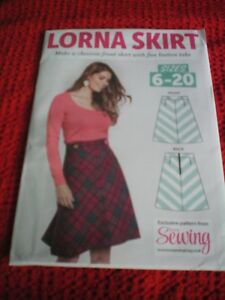 SKIRT SEWING PATTERN BY LOVE SEWING SIZES 6 20. .NEW ...UNCUT GBP 3.99