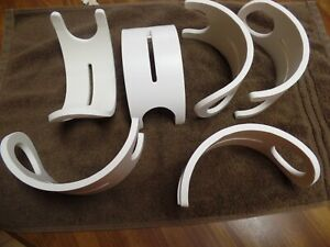 4PVC Fishing Rod pole Holders Crappie Spider Rig Rod Holders made from 6quot; PVC
