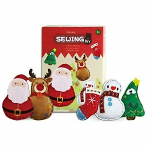 MEckily Arts And Crafts Kids Sewing Kits Beginner For Kids Christmas Decor $33.18