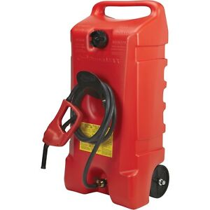 Scepter Duramax 14 Gallon Wheeled Fuel Container with Flo N Go Fuel Handle $174.99