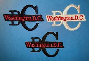 3 LotRare Washington D.C. Iron On Hat Hipster Jacket DIY Travel Patches 089W C $18.00