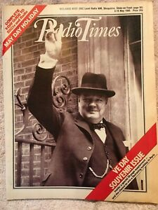 Radio Times 4 10 May 1985. VE Day Souvenir Issue The Detective One Man and Dog GBP 5.50