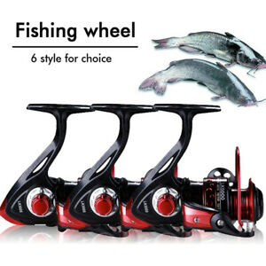 Powerful 13BB Spinning Fishing Reels 5.2:1 Gear Ratio for Saltwater Freshwater