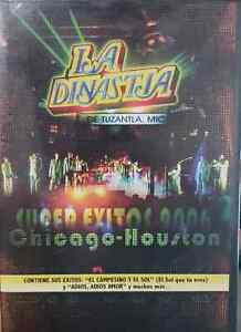 La Dinastia de Tuzantla Super Exitos 2006 Chicago Houston DVD New Sealed
