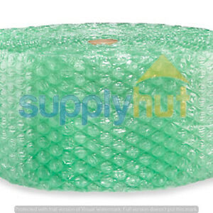 1 2quot; SH Recycled Large Bubble Cushioning Wrap Padding Roll 250#x27; x 12quot; Wide 250FT $27.95