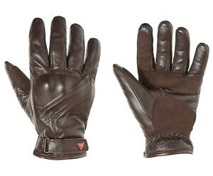 Triumph Motorcycles Lothian Dark Brown Classic Goat Leather Gloves HUGE DISCOUNT