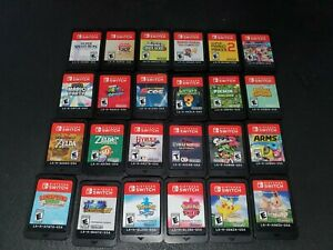 Nintendo Switch Games to Choose From Or Blank Case $46.00