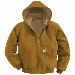 Carhartt Thermal Lined Duck Active Jacket Brown