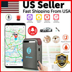 Magnetic Hidden GPS Tracker Real Time Car Vehicle Tracking Device Multi Purpose $18.99