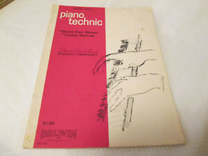 Vintage Level Two Piano Technic by David Carr Glover Book 2 $3.00
