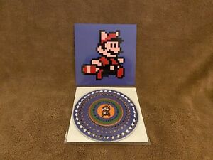 "NEW Super Mario Bros 3 SMB3 7"" Animated Picture Vinyl Zoetrope VGM 1st ed 500"