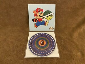 "NEW Super Mario Bros 3 SMB3 7"" Animated Picture Vinyl Zoetrope VGM 2nd edition"