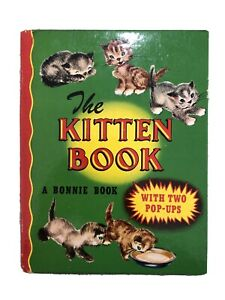 1949 POP UP A Bonnie Book THE KITTEN BOOK Illustrated by Sharon Branigan