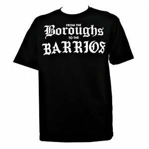 Famous Stars And Straps RS Boroughs Mens Short Sleeve Graphic Tee Black 2X Large $14.99